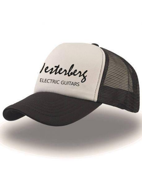 Trucker cap - black/white