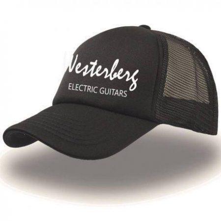 Trucker cap - black